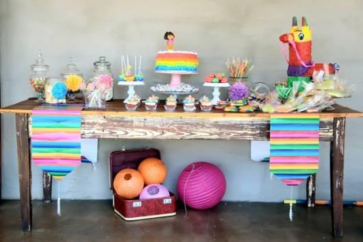 linda decoração Dora clean feita em casa