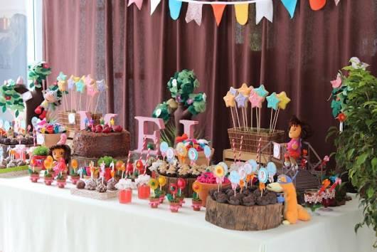 modelo de decoração Dora rustica