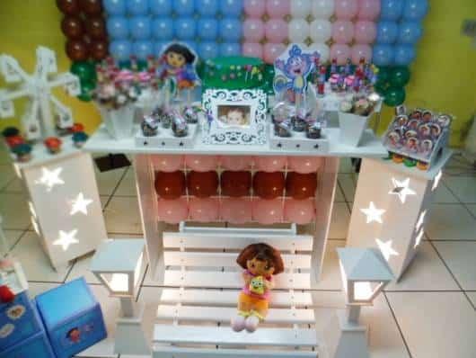 decoração Dora provençal baby