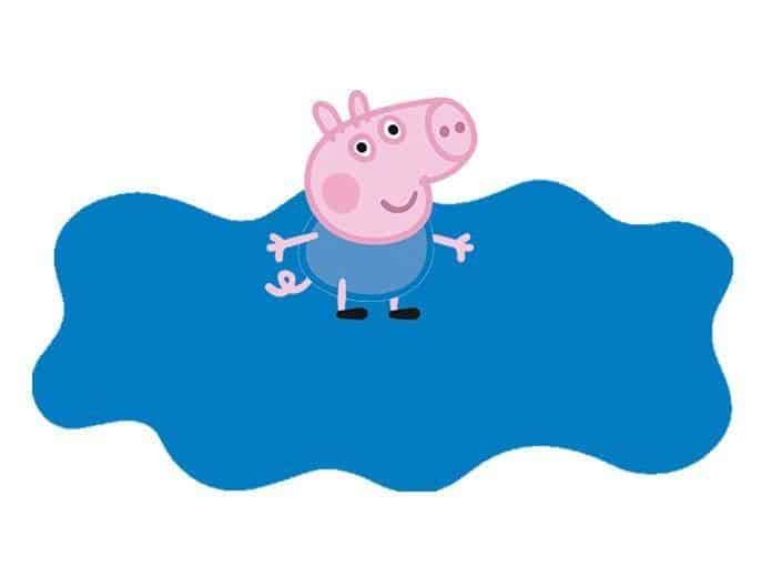 convite simples george pig