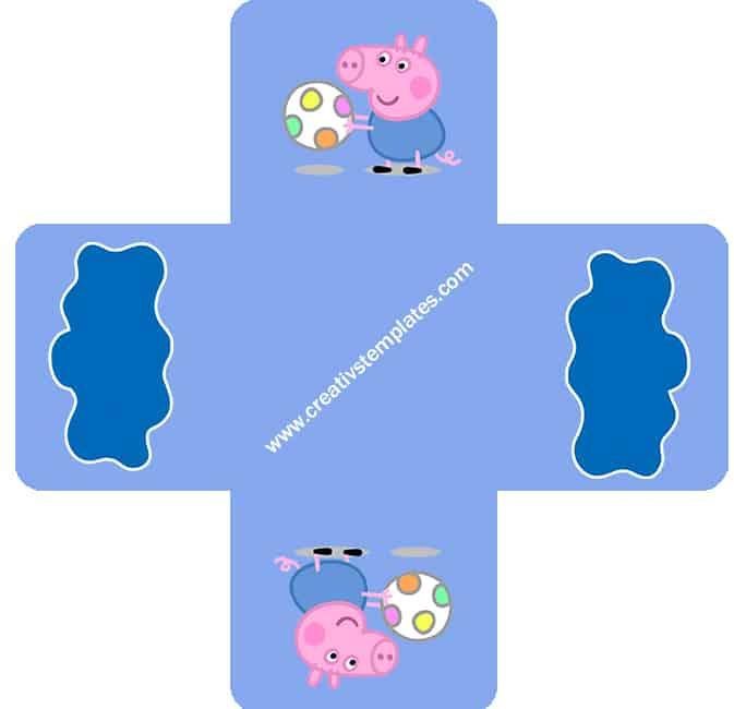 decoração imprimir festa george pig