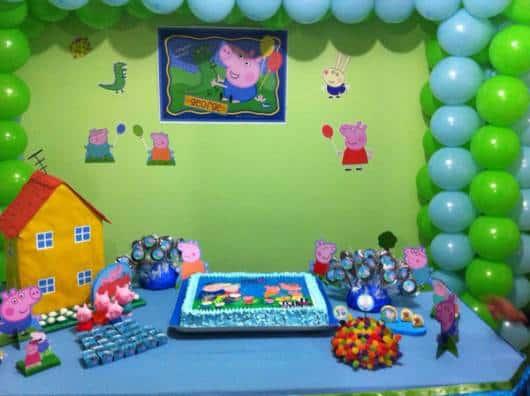 festa em casa george pig