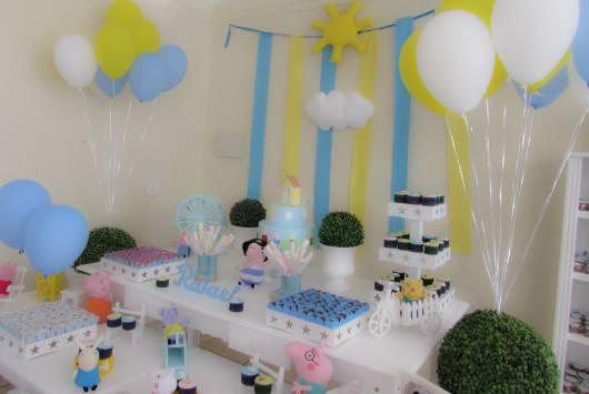 festa simples e provençal george pig