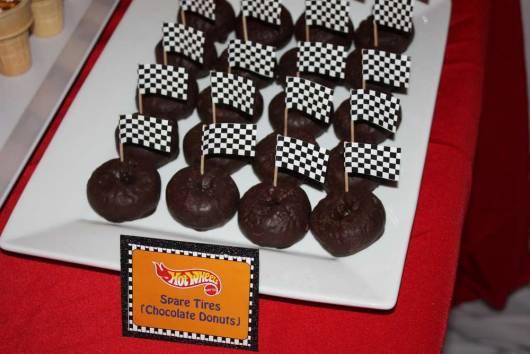festa hot wheels cupcakes
