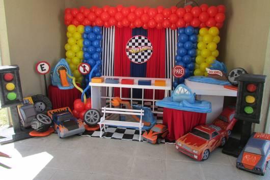 festa hot wheels simples dicas