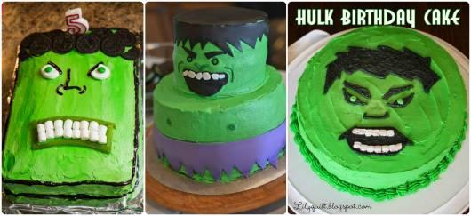 ideias de bolo do hulk