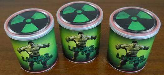 ideia de lembrancinha do hulk