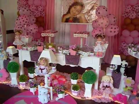 foto de decoração festa jolie provençal baby