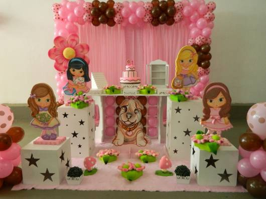 decoração de festa jolie provençal