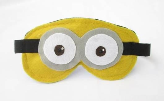 máscara de dormir minions
