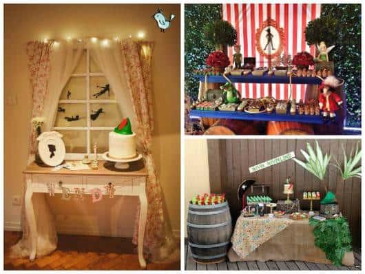 ideias decoração de festa peter pan