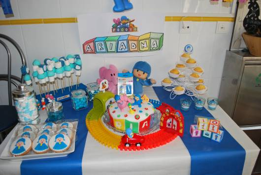 Festa pocoyo infantil 50 dicas simples - Decoracion para cumpleanos infantiles en casa ...