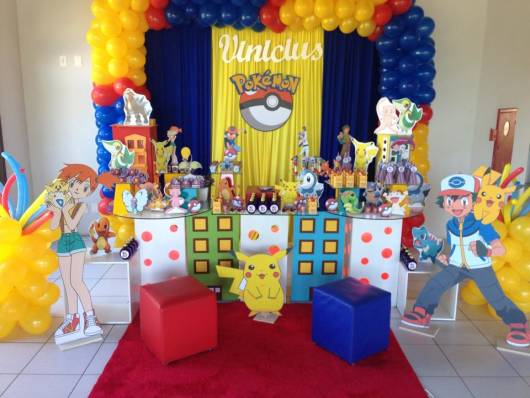 cores festa infantil