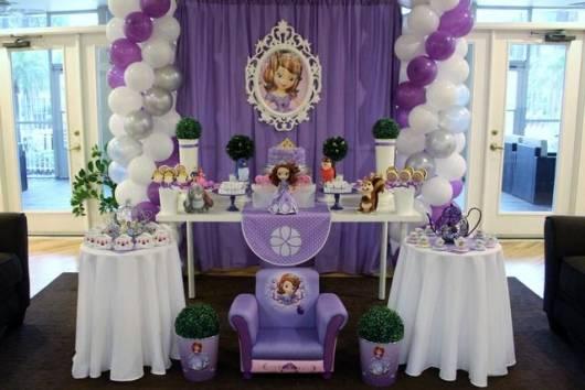 Festa PRINCESA SOFIA Infantil 60 Dicas!