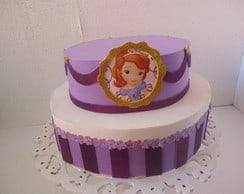 bolo de mentira princesa Sofia