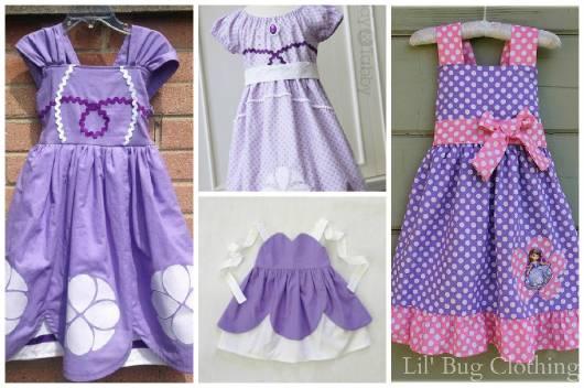 ideias de roupa para festa princesa Sofia