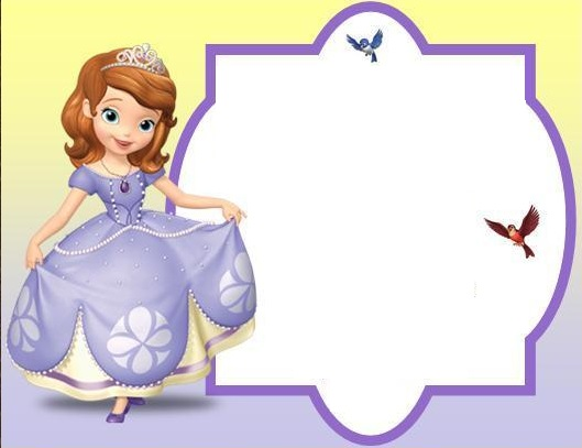 convite da princesa Sofia