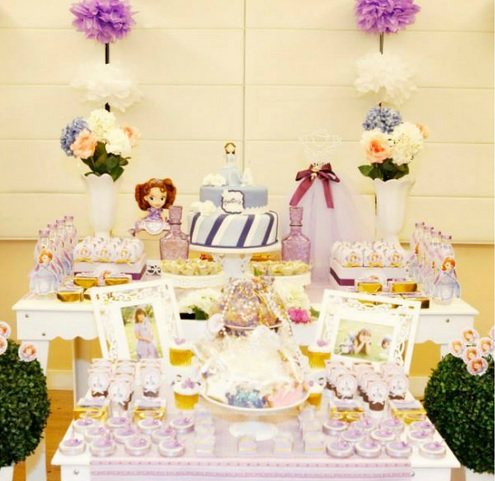 ideia festa provençal princesa Sofia
