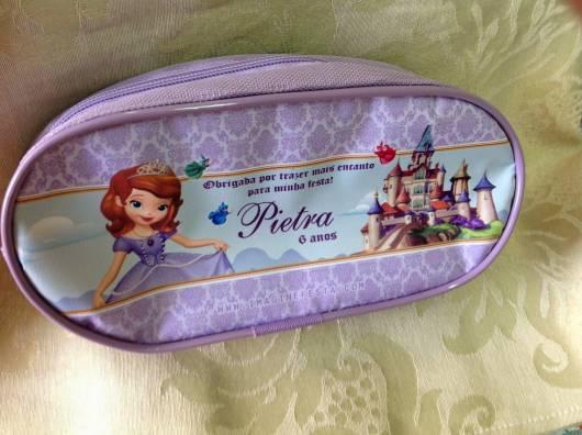 estojo personalizado princesa Sofia