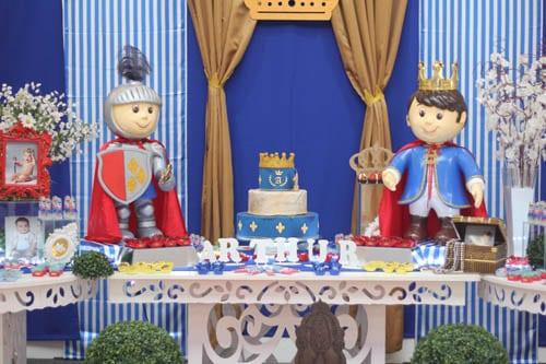 festa rei arthur colorida