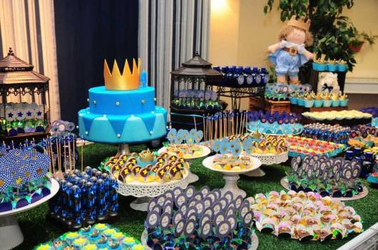 decoração festa rei arthur