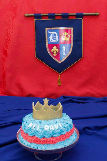 bolo simples rei davi