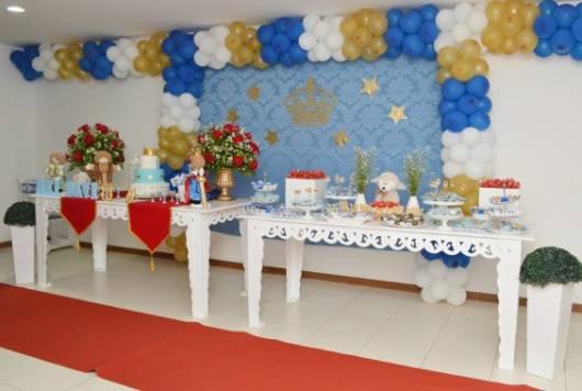como decorar festa rei davi