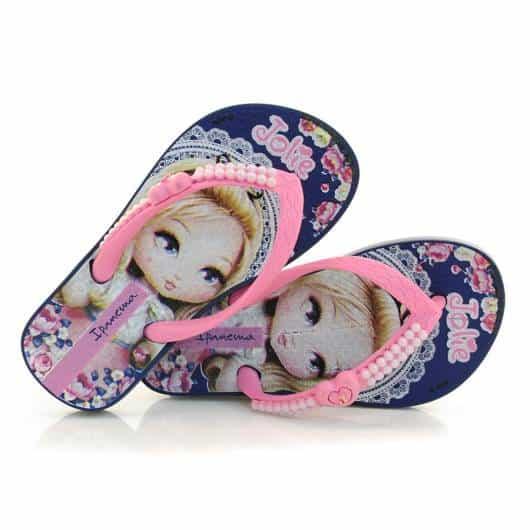 linda sandalinha personalizada de lembrancinha
