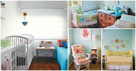 reutilização de móveis no quarto de bebê