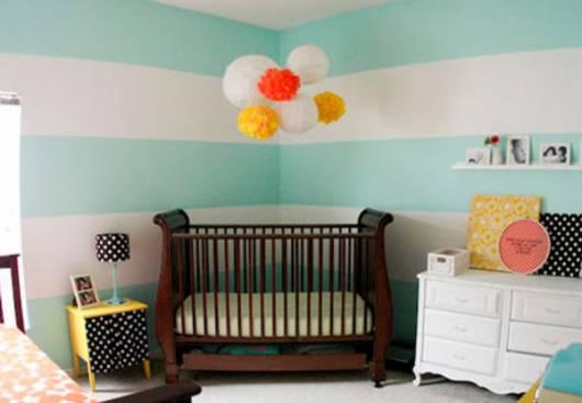 reuso de móveis no quarto de bebê