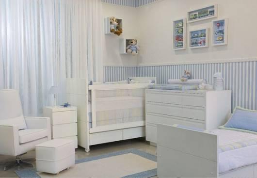 jogo completo de móveis para quarto de bebê