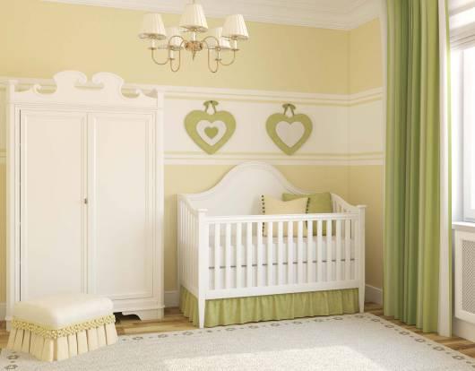 móveis compactos para quarto de bebê