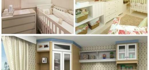 móveis planejados para quarto de bebê