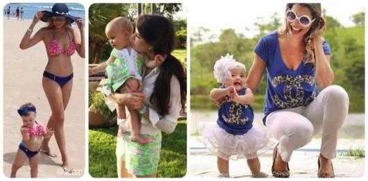 dicas usar roupa mãe e filha