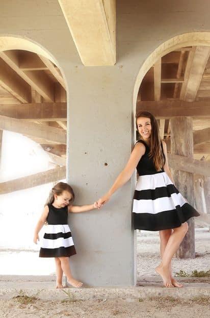 ideia foto roupa tal mãe, tal filha