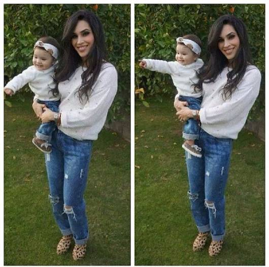 roupa mãe e filha para bebê