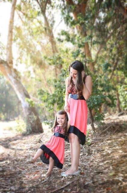 dicas para fotografar look mãe e filha