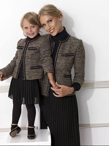 roupa social tal mãe, tal filha