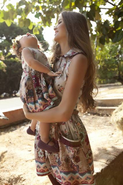 vestido igual mãe e filha