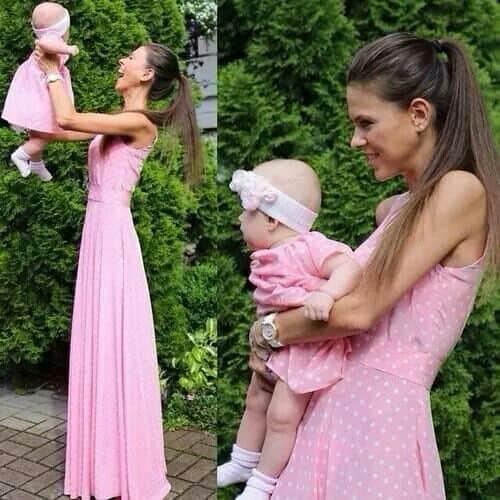 vestido de bebê mãe e filha