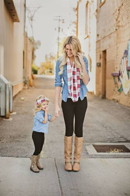 roupa mãe e filha moderna