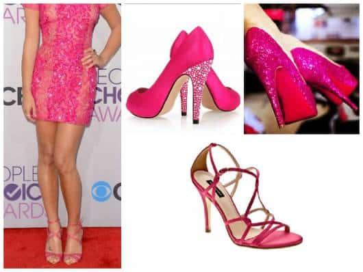 calçados pink para 15 anos