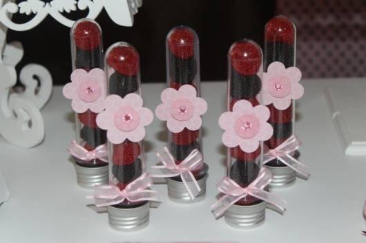 lindo tubete para decorar festa jolie