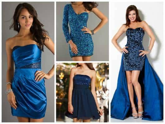 vestidos simples azul petróleo 15 anos
