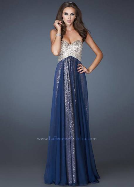 vestido longo azul marinho debutante