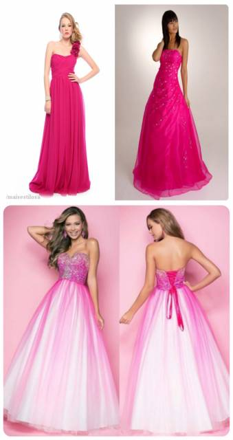 look pink e longo debutante