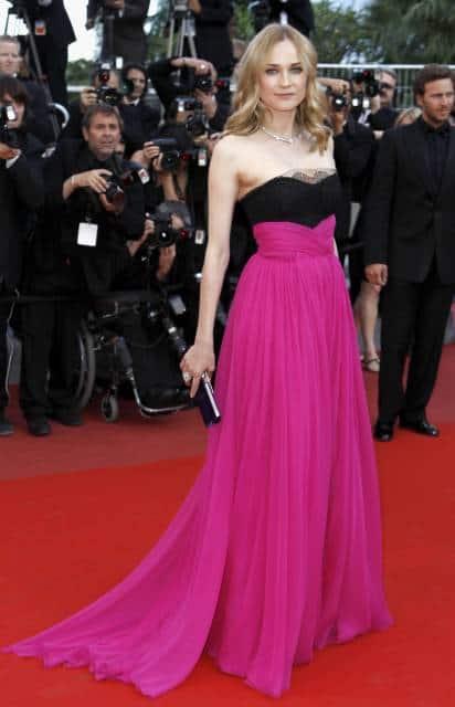 vestido pink famosa