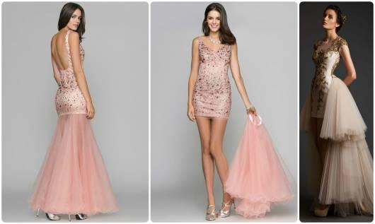 ideias de vestido de debutante 2 em 1