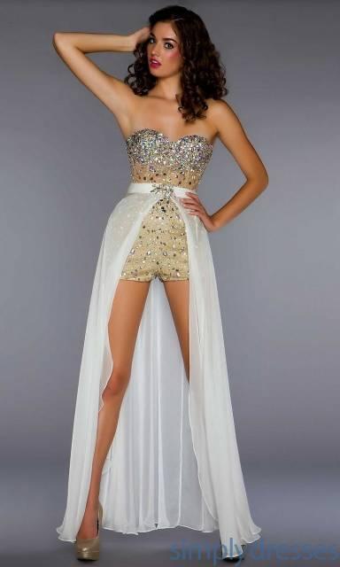 vestido moderno de 15 anos 2 em 1