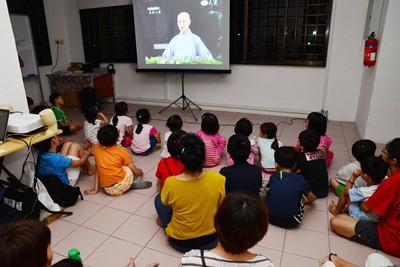 assistir filmes em sala de aula